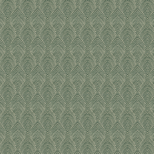 Deco Herringbone - Emerald