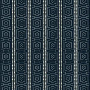 Fiji Stripe - Indigo